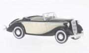 Opel . Super 6 cabriolet noir/beige 1/43