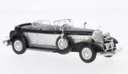 Chrysler . Le Baron Pheaton cabriolet argent/noir 1/43
