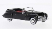 Lincoln . cabriolet noir 1/43