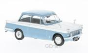Triumph . bleu/blanc 1/43