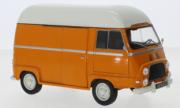 Renault . orange / blanche 1/24