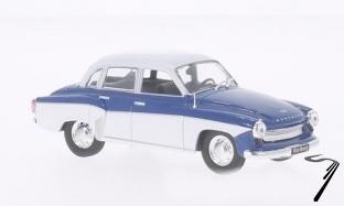 Wartburg . bleu/blanc 1/43