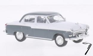 Volga . M-21 gris/blanc 1/43