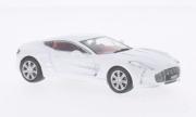 Aston Martin One 77 metallic white metallic white 1/43