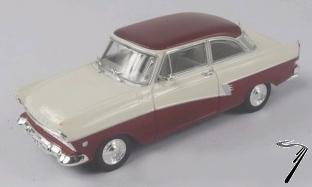 Ford . 17M (P2) rouge/blanc 1/43