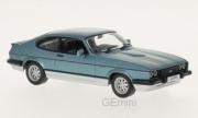 Ford . MKIII bleu metallisé - argent  1/43