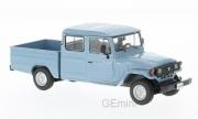 Toyota . Bandeirante pick up bleu 1/43