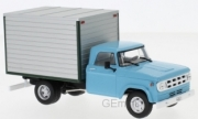 Dodge . box van bleu clair/gris 1/43