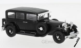 Mercedes . Typ Nurburgring 460 (W08) noire 1/43
