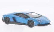 Lamborghini Aventador LP 720-4 édition 50ème anniversaire bleu LP 720-4 édition 50ème anniversaire bleu 1/43
