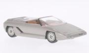 Lamborghini Athon cabriolet gris métallisé cabriolet gris métallisé 1/43