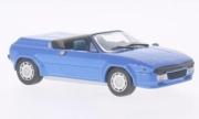 Lamborghini Jalpa prototype cabriolet bleu prototype cabriolet bleu 1/43
