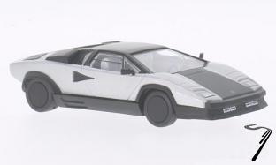 Lamborghini Countach Evoluzione gris/noir mat Evoluzione gris/noir mat 1/43