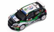 Skoda Fabia S2000 #3 rallye Ypres  1/43