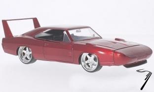 Dodge Charger Daytona rouge Fast & Furious 7 Daytona rouge Fast & Furious 7 1/24
