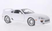 Toyota Supra blanc Fast & Furious tuning blanc Fast & Furious 1/18