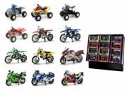 Divers Pack 24 x Quad, MotoCross, Moto de série  1/32