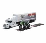 Kawasaki Camion Volvo + moto cross KX 450F + tapis team Two Two  autre