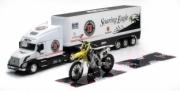 Suzuki coffret camion volvo VN-780 + moto Suzuki RM Z-450 + tapis   autre