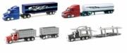 Peterbilt . Pack de 12 camions Peterbilt et Mack (modèles celon arrivage) 1/43