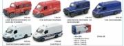 Divers . Pack de 12 véhicules (Van, 4x4) pompier, gendarmerie, ambulance, police 1/43
