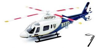 Divers . Agusta A119 koala NYPD 1/43