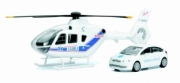 Eurocopter . EC135 + citroen C4 berline Ambulance 1/43