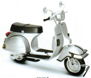 Vespa P200E couleurs variables  1/12