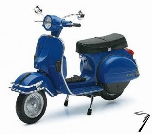 Vespa P 200E couleurs variables  1/12