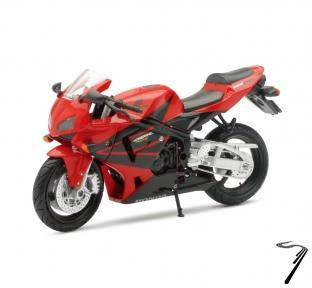 Honda CBR 600R rouge  1/12