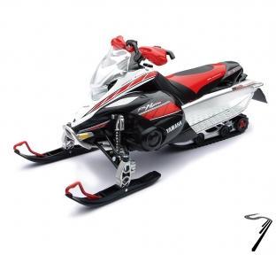 Yamaha Moto neige FX couleurs variables  1/12