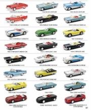 Divers . Pack de 24 voitures américaines cabriolets 1/43