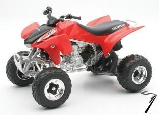 Honda TRX 450R couleurs variables  1/12