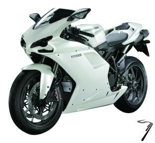 Ducati 1198 couleurs variables  1/12