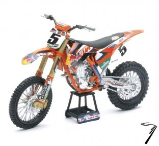 KTM 450 SX-F Factory racing team #5  1/10