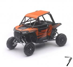 Divers Polaris RZR XP 1000 EPS orange Madness APS  1/18