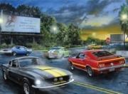 Ford Mustang dans la nuit - Puzzle 1000 pcs dans la nuit - Puzzle 1000 pcs autre