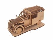 Citroen . Van Kit en bois 34 pièces à assembler 18x8.5x9 cm autre
