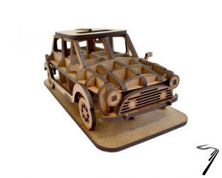 Mini . Kit en bois à assembler - 16 x 8 x 6,5 cm - 33 pièces autre