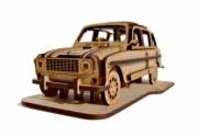 Renault . Kit en bois à assembler - 17 x 8 x 7 cm - 36 pièces autre