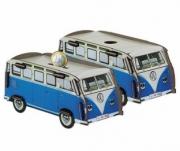 Volkswagen . bleu Tirelire kit en bois éco certifié - 7 x 16x 7 cm - vendu par 1 autre