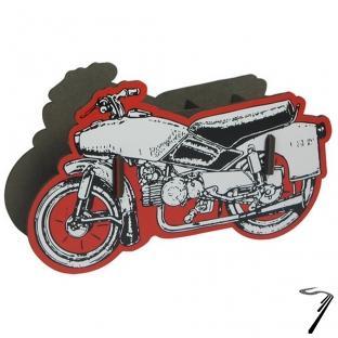Divers Moto Pot à crayon en bois éco certifié - 20 x 12 x 5 cm  autre