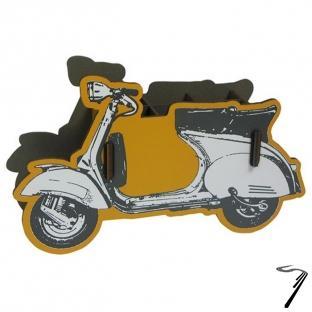 Divers Scooter pot à crayon kit en bois éco certifié - 12 x 20 x 5 cm  autre