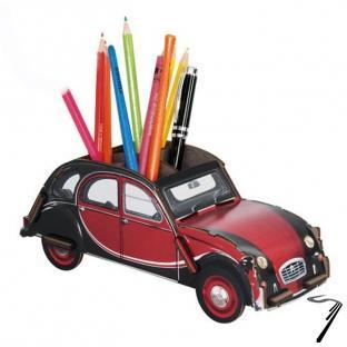 Citroen . Charleston Pot à crayons kit en bois éco certifié - 9 x 23 x 8,5 cm autre