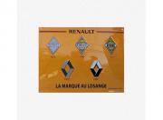 Renault . Logos - Plaque Métal 30 x 40 cm autre