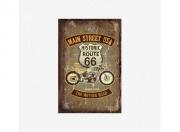 Divers Route 66 - Plaque Métal 30 x 40 cm  autre